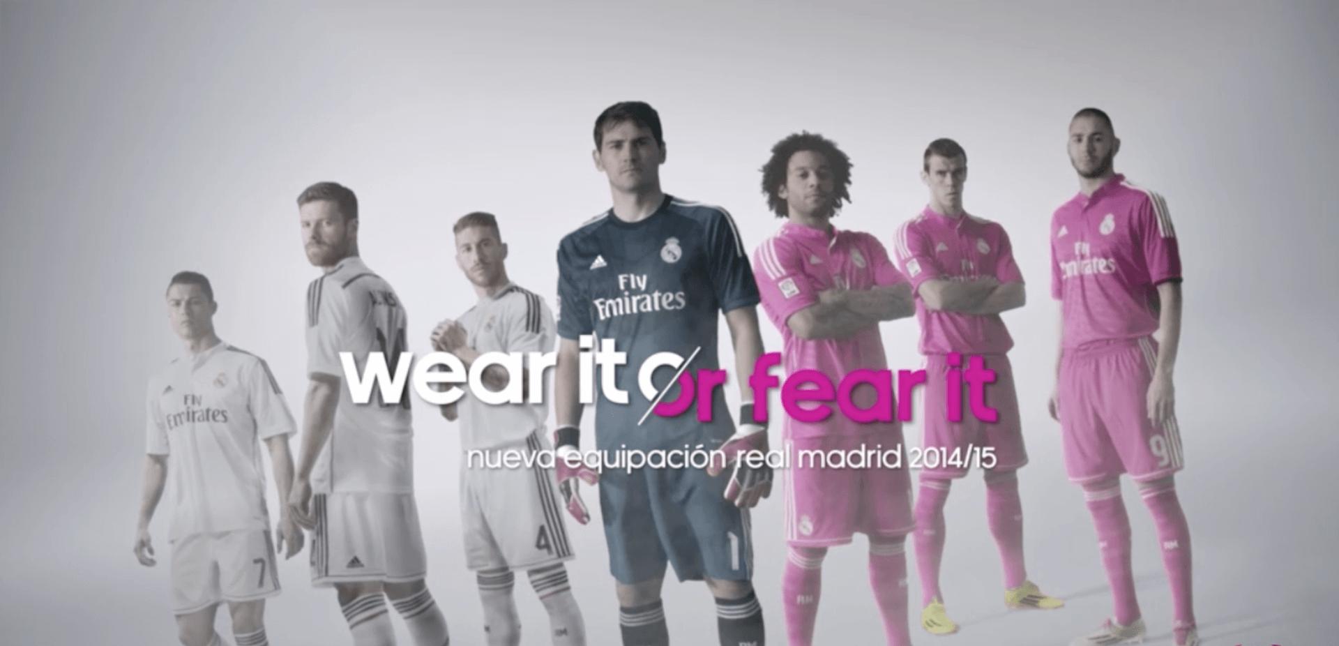 Adidas: Real Madrid 2014