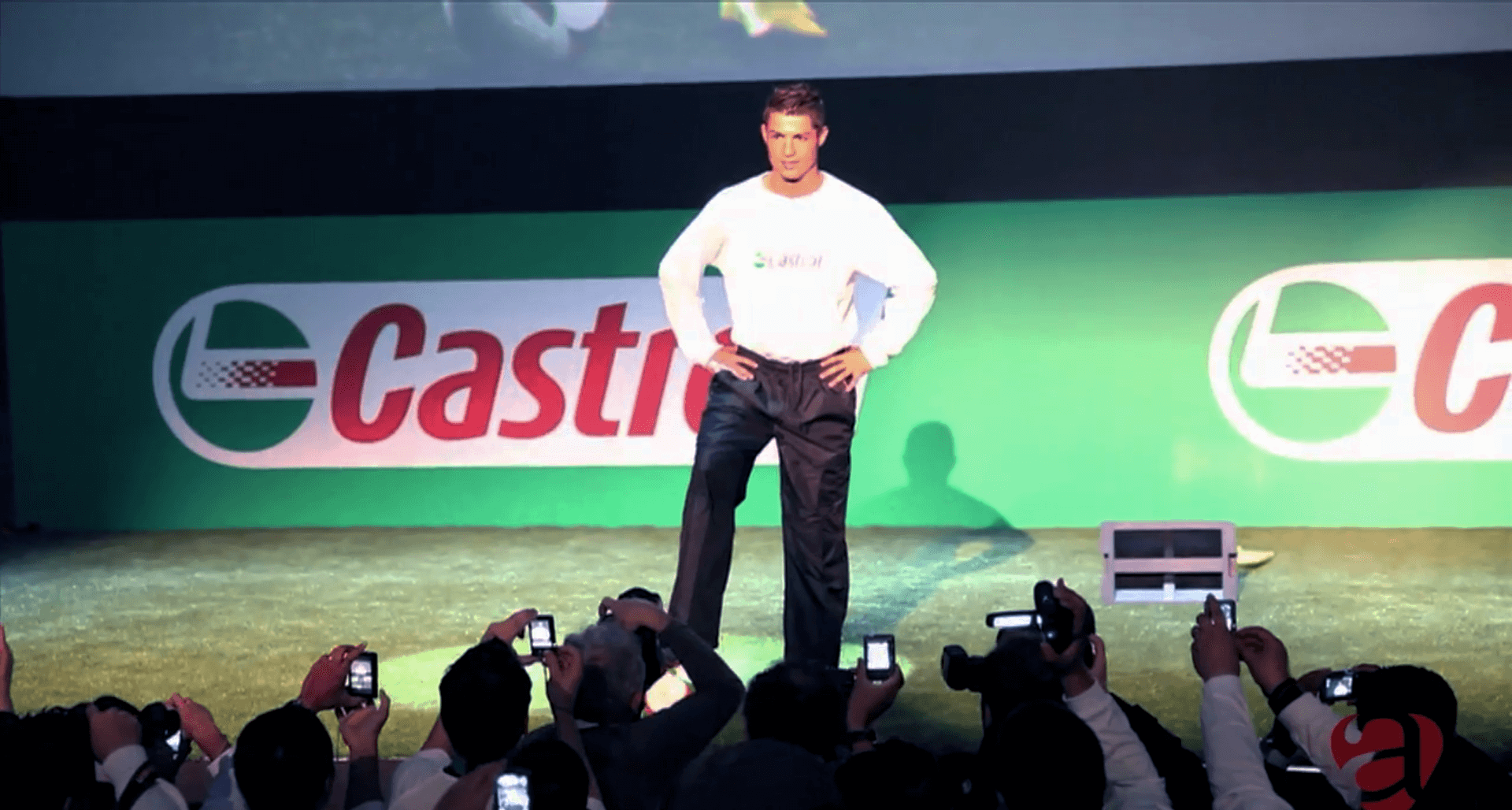 Event production services in spain CASTROL CRISTIANO RONALDO