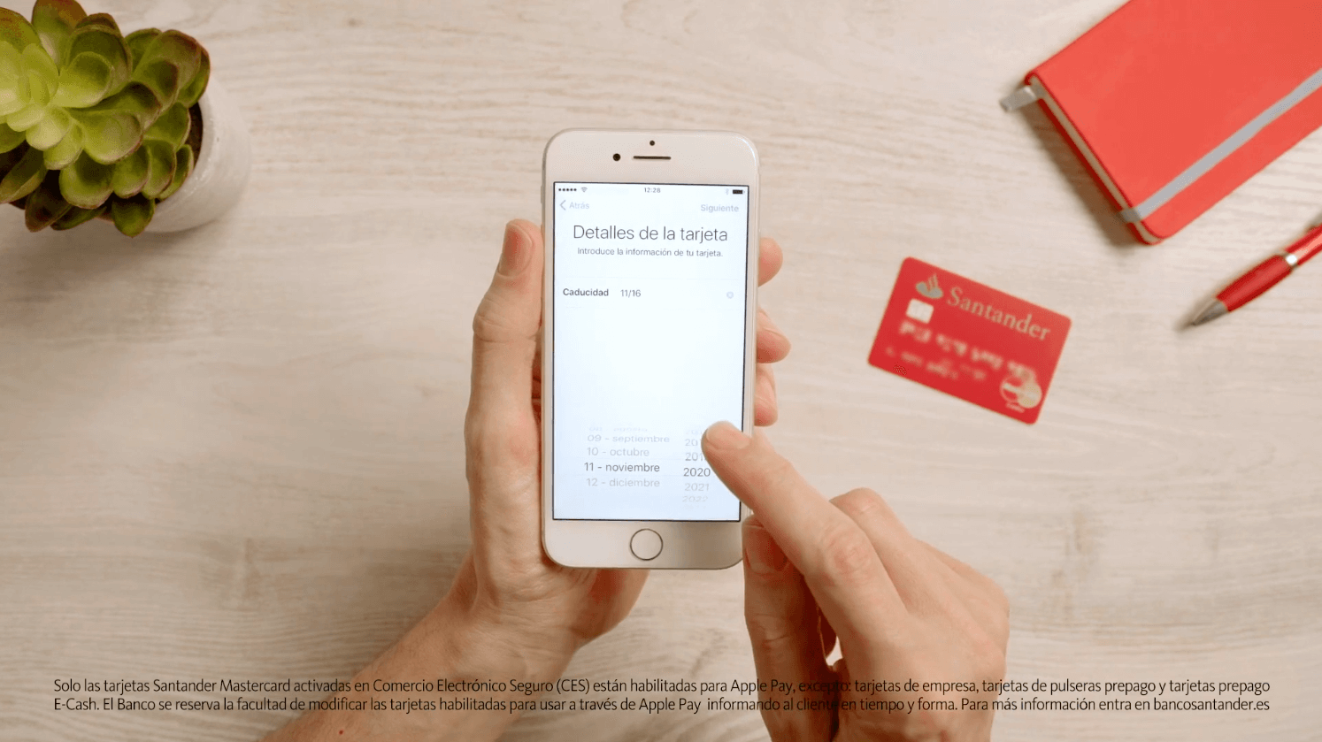 Daniel Tornero - Santander Apple Pay