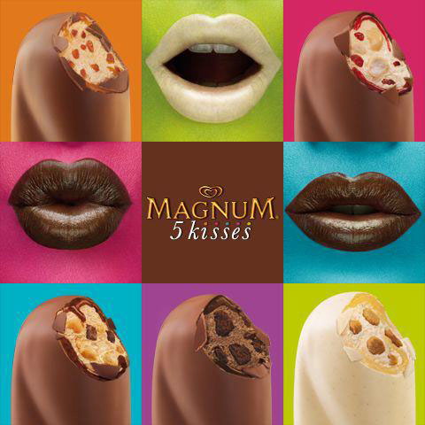 Magnum 5 Kisses Campaign 04