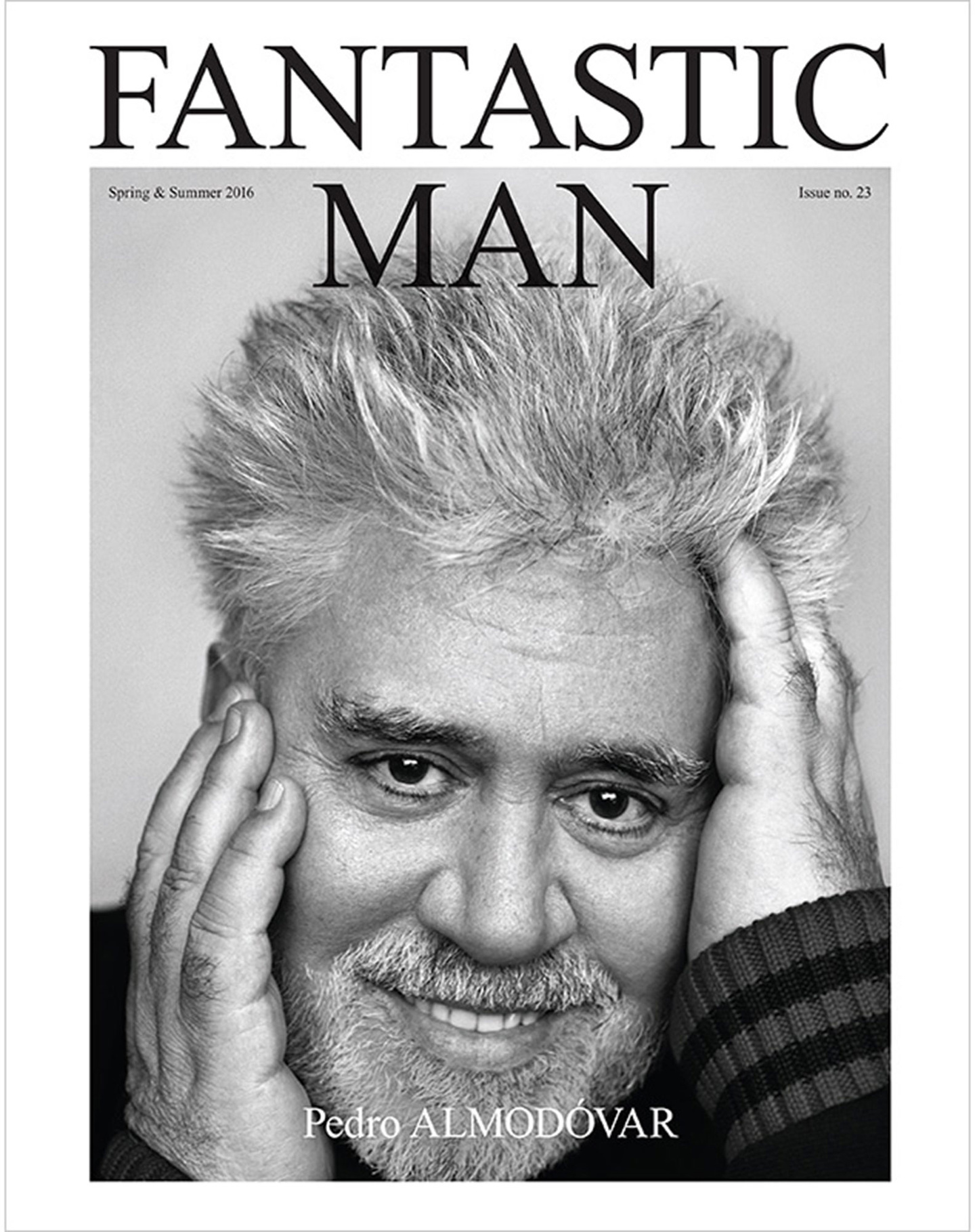 Magazine Cover Fantastic Man