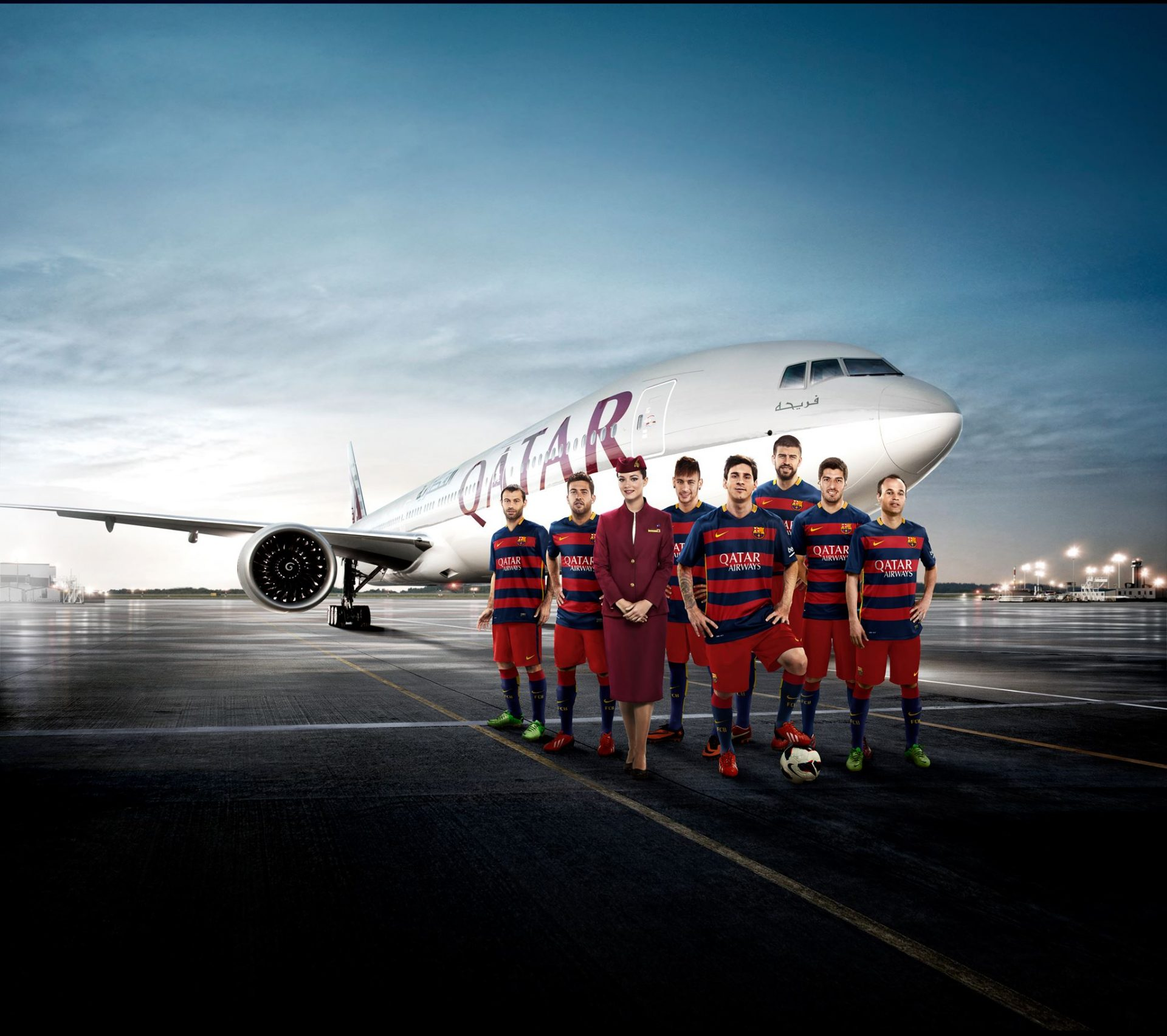 FC BARCELONA: QATAR AIRWAYS